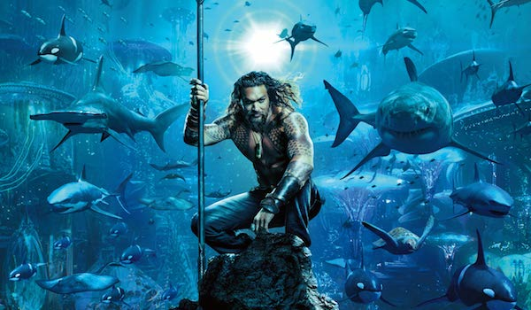 AQUAMAN (2018) Movie Poster: 'Home Is Calling' Jason Momoa in the DC Comics Film